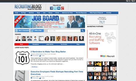 Recruiting Blogs